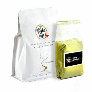 Zestaw startowy kawa 250g + młody jęczmień 100g