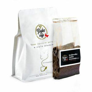 Zestaw startowy kawa 250g + królewska łuska gryczana 100g