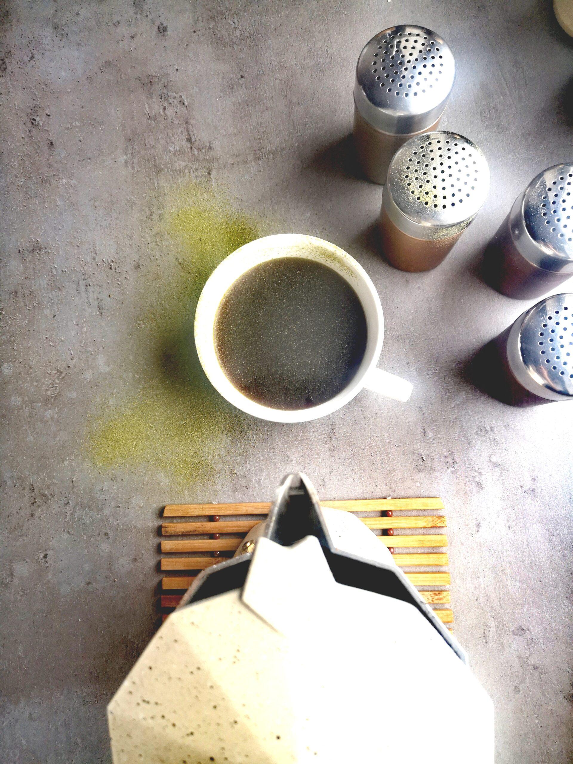 Kawa z zieloną gryką